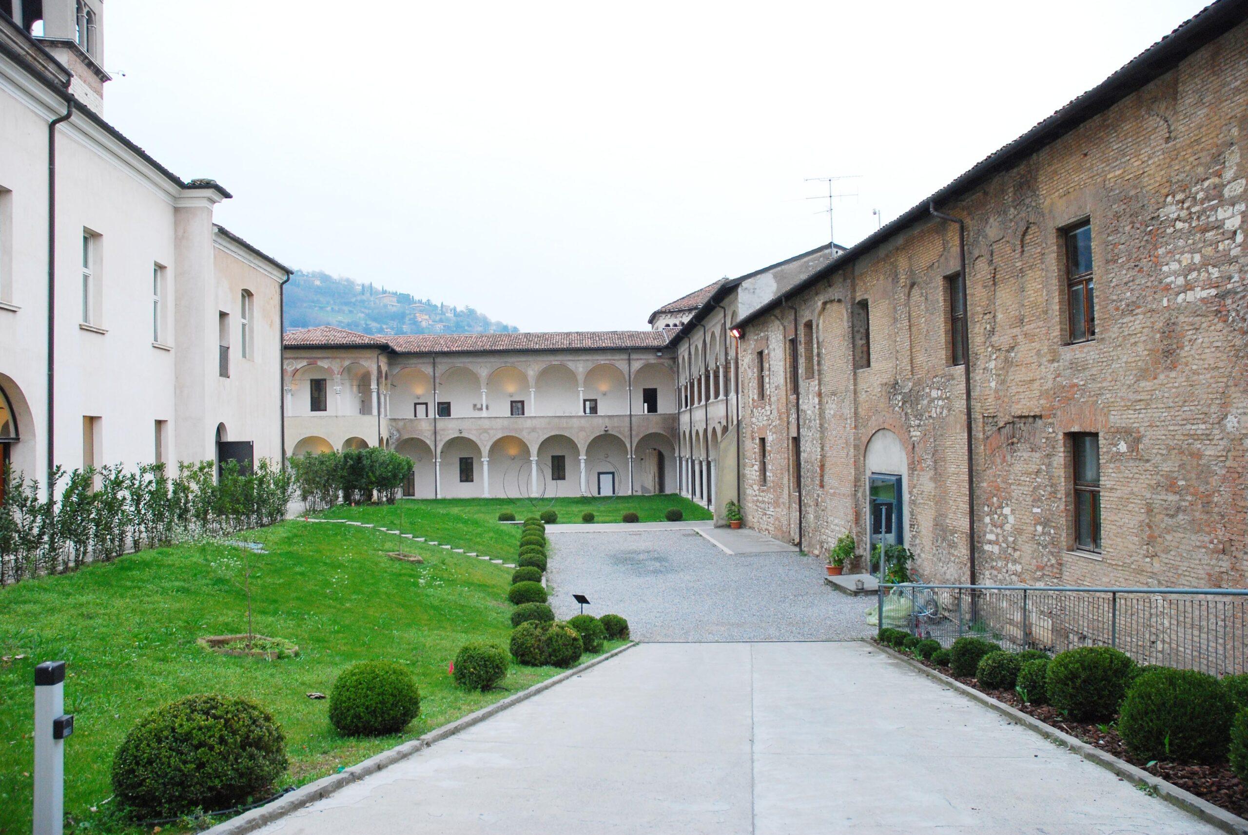 Il Museo di Santa Giulia, spazi aperti interni - foto Eden