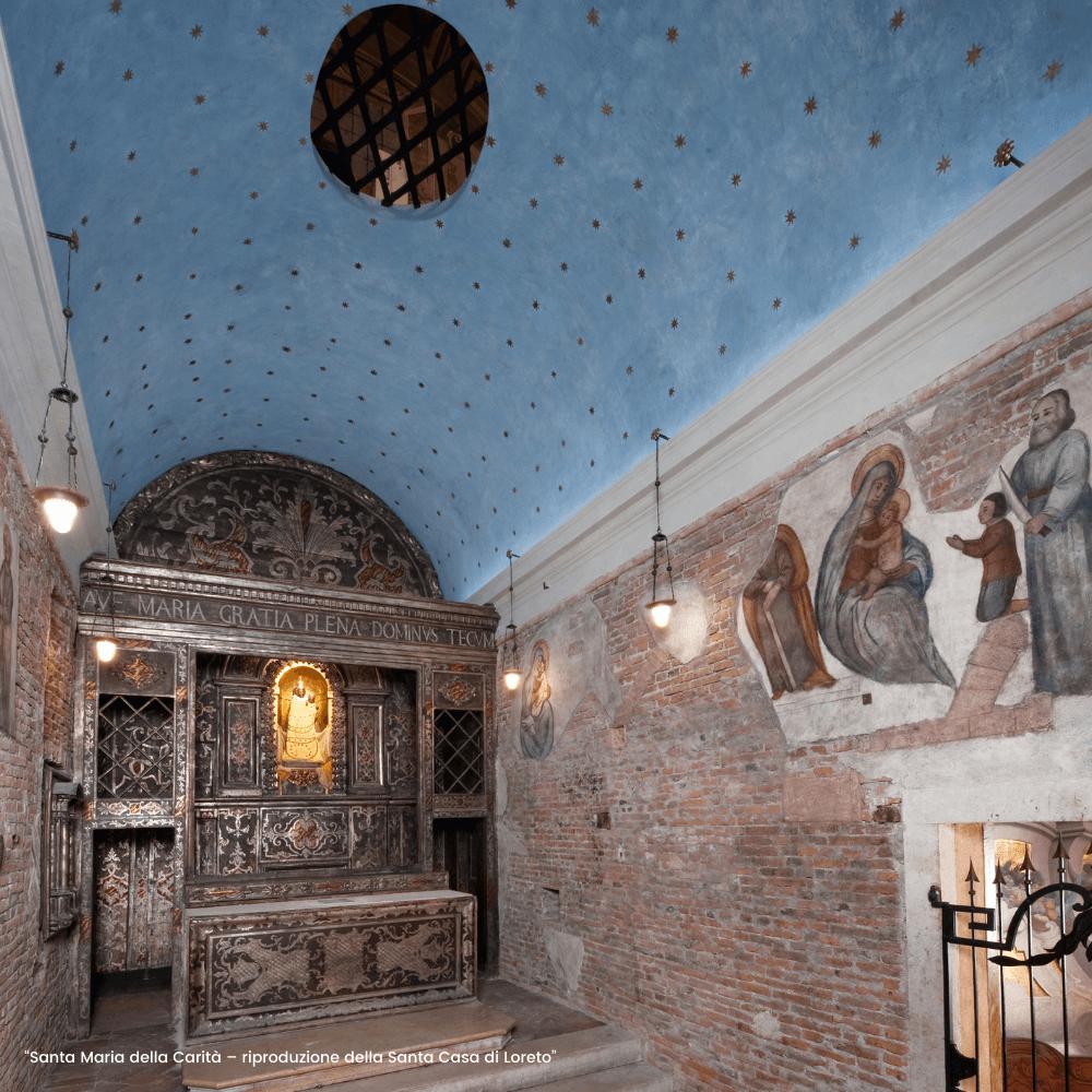 Riapre a fedeli e visitatori la Chiesa di Santa Maria della Carità